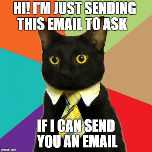 Can I send you an email?