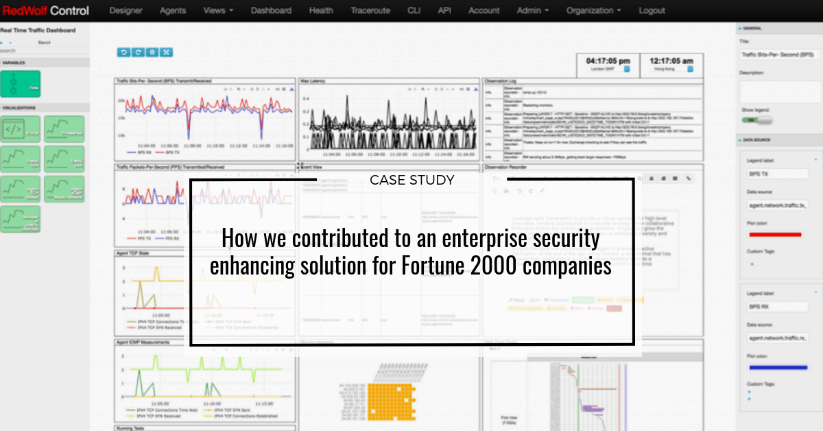 How we contributed to an enterprise security enhancing solution for