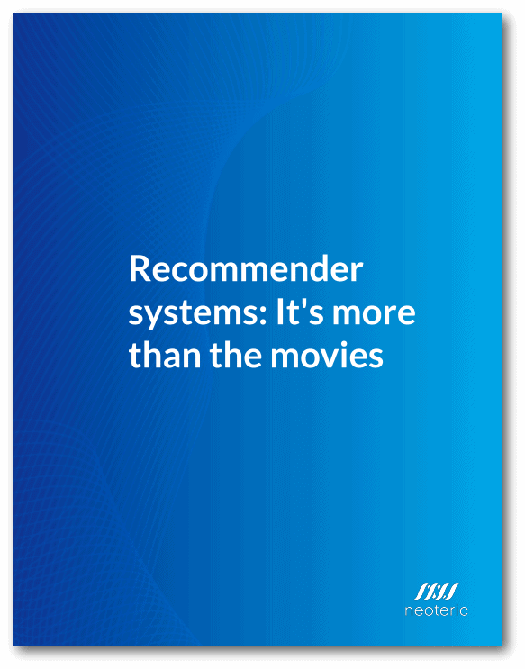 Recommender systems: It's more than the movies - cover