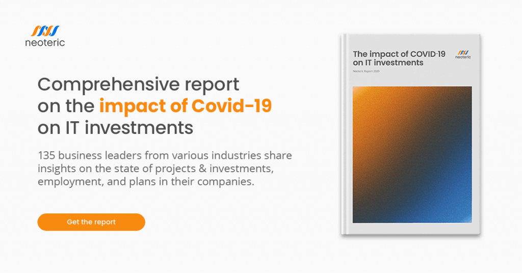 """Download """"The impact of Covid-19 on IT investments"""" report"""