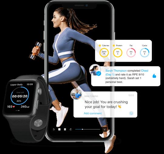 aaptiv virtual ai fitness trainer - fitness businesses using member data analytics